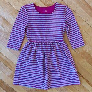 Gap Striped Sweatshirt Dress - Size M